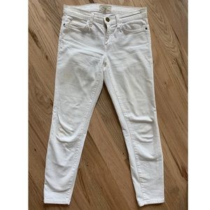 Current Elliot White Jeans size 4/27
